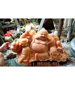 Tượng Phật Di Lặc Đá Ngọc Hoàng Long