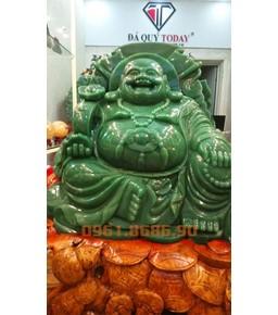 Tượng Phật Di Lặc Đá Thạch Anh Xanh 500kg